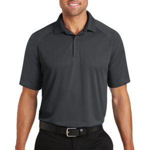 PORT AUTHORITY, POLO, 100% POLYESTER, XS, GREY